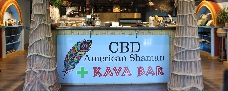 CBD American Shaman . Kava Bar . Shaman Yoga